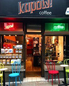 Kapow Coffee in Thornton's Arcade